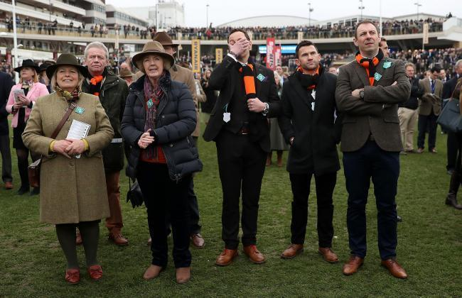 Tobefair created a lot of euphoria at Cheltenham Races