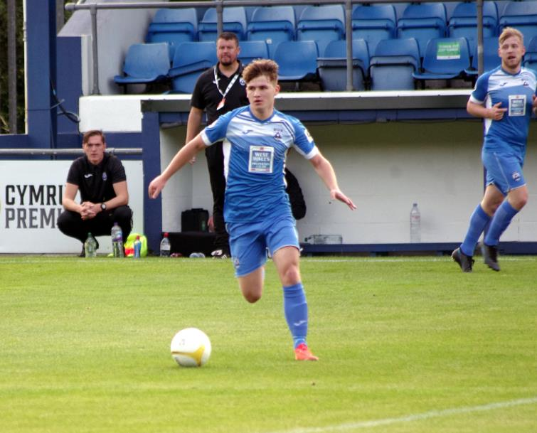 Danny Williams scored twice for Haverfordwest County
