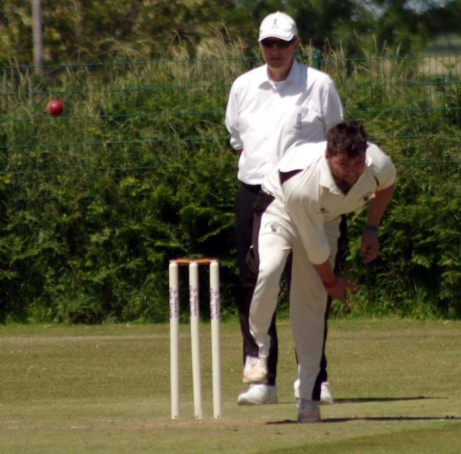 Ross Hardy took four wickets for Neyland