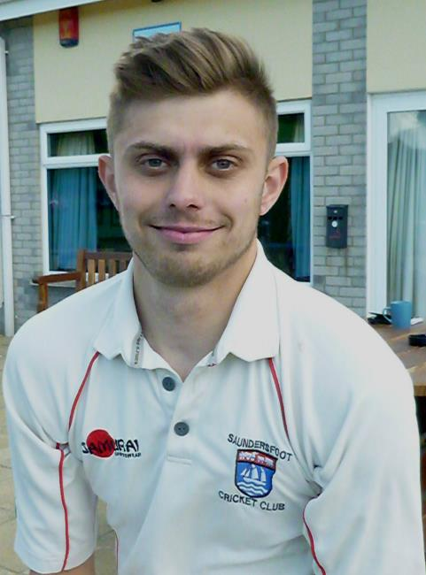 Top batsman Sam Franklin