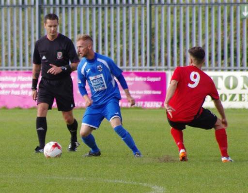 Chris O Sullivan in action for the Bluebirds