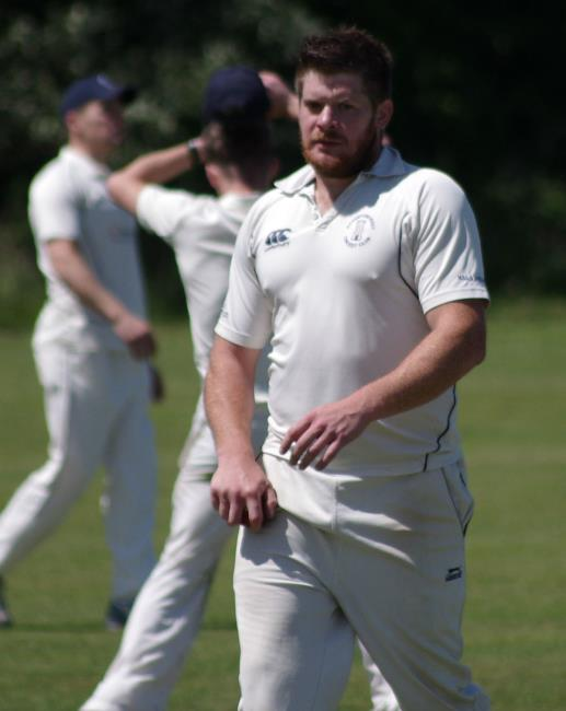 Adam James - took five wickets for Haverfordwest