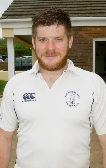Adam James took four wickets for The Town