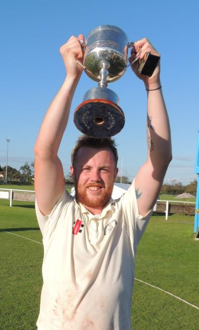 Delighted young skipper Sam Laugharne