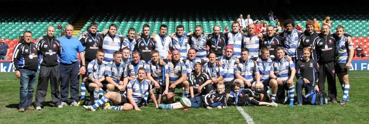 Fishguard RFC play final in Cardiff