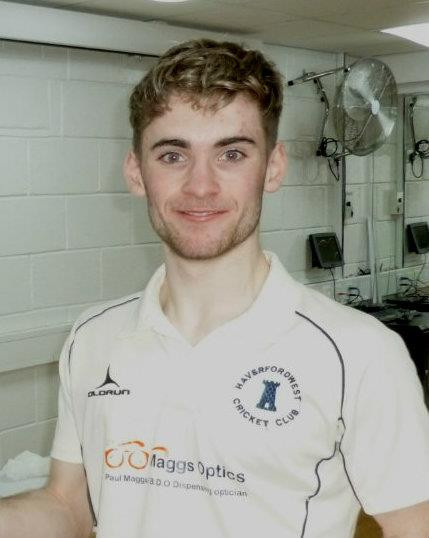 Haverfordwest CC skipper Kieran O Brien