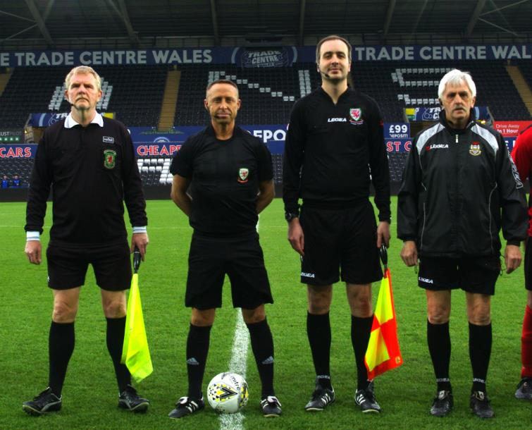 West Wales Cup match officials