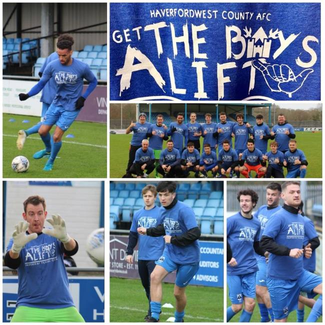 Bluebirds team up with Get the Boys a Lift