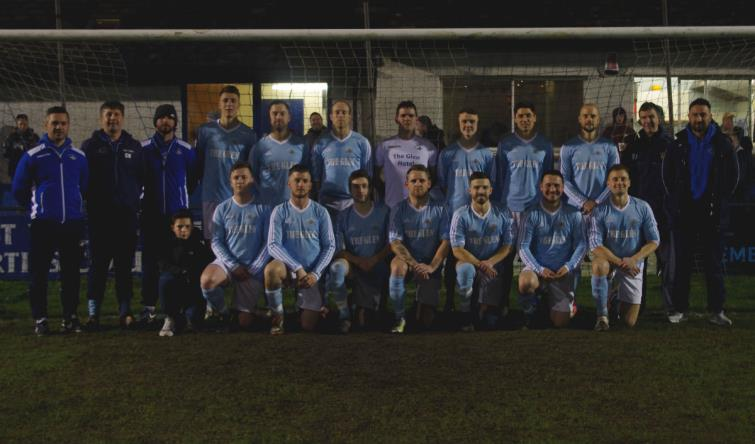 The Merlins Bridge squad line-up