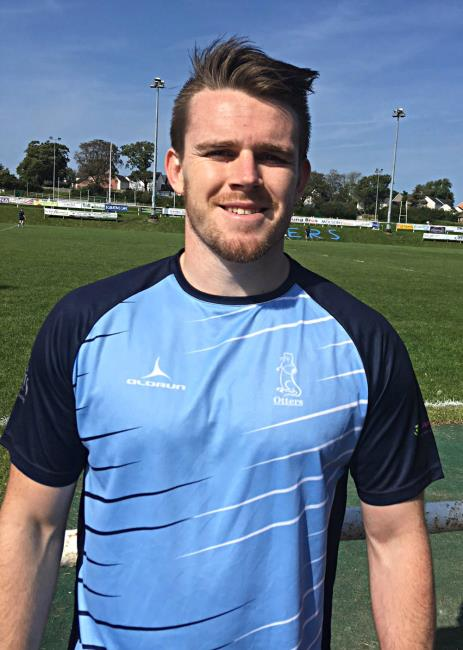 Daf Pritchard - three tries for Narberth