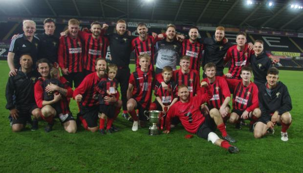 Goodwick United win 2018 West Wales Cup