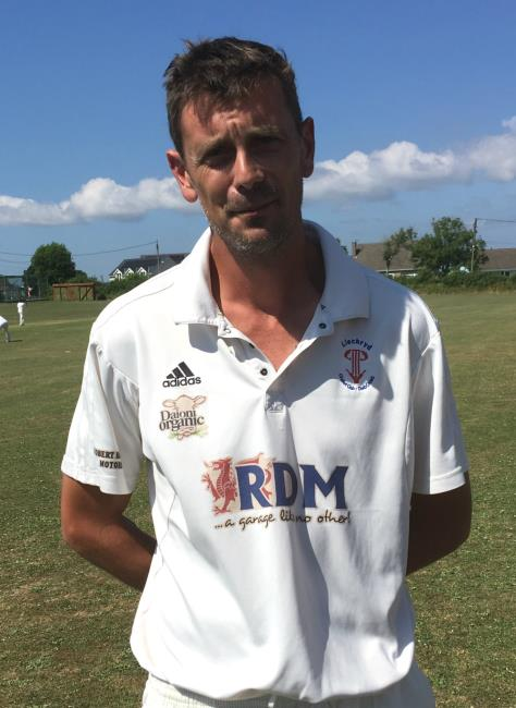 Graham Keene - five-wicket haul for Llechryd