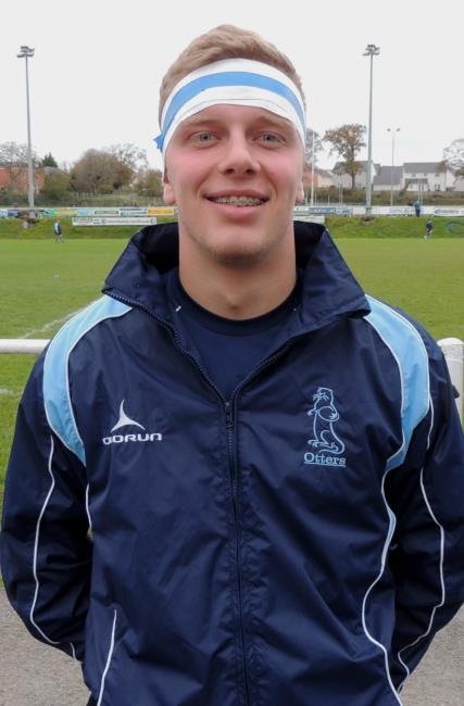 Jake Jenkins - good try for Narberth full back