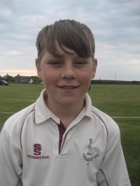 More wickets for Cresselly youngster Josh Lewis