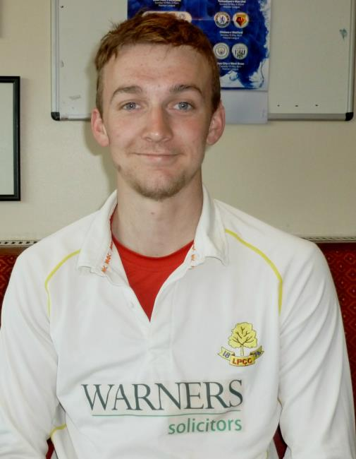 Kyle Marsh - superb 122 for Kilgetty