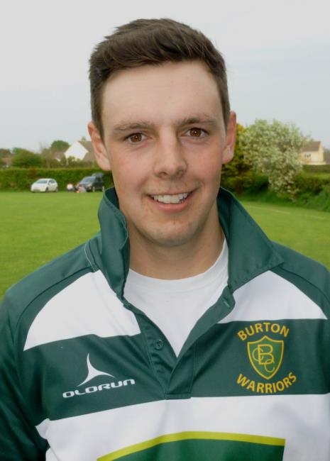 Luke Hayman - five wicket haul for Burton