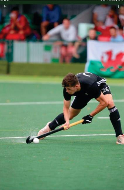 Ollie Wheeler selected for Wales Under 21 Hockey Squad