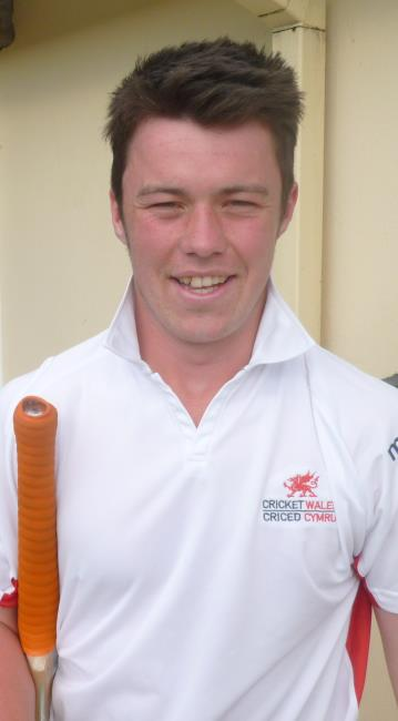 Steffan James - brilliant 128 not out for Whitland