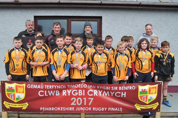 U10s runners-up - Llangwm