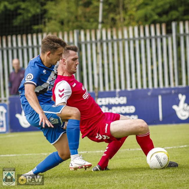 Ben Fawcett scored in vain for Haverfordwest County
