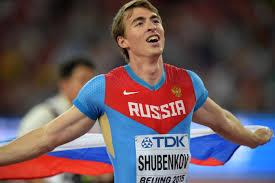 Russian athlete 2
