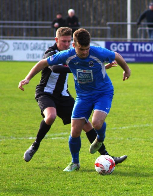 Ashley Bevans scored two excellent goals