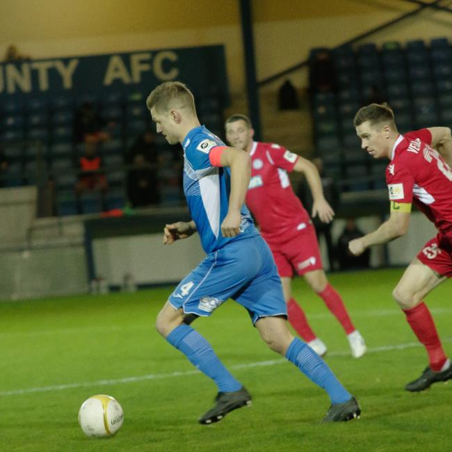 Skipper Sean Pemberton in possession. Picture by Matthew Kelly of Rawphotography