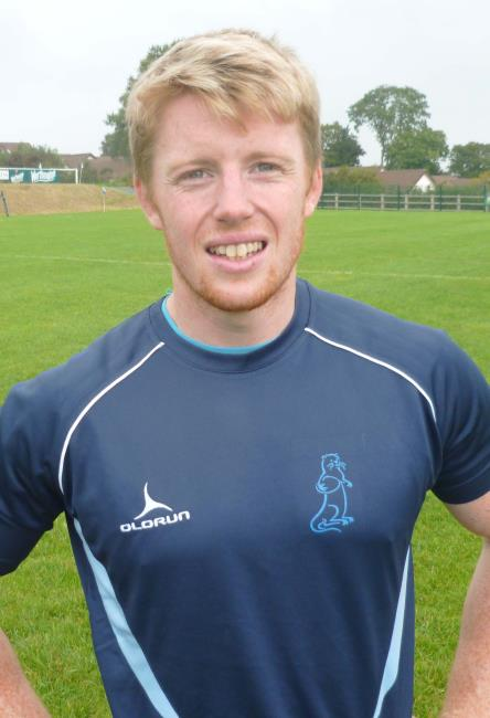 Rhys Lane - try for Narberth scrum half