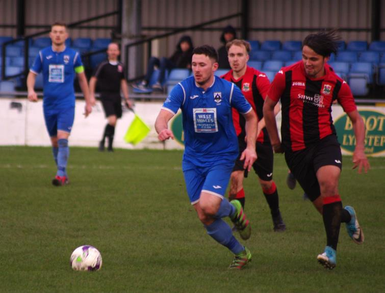 Ricky Watts scored a cracking second goal for Haverfordwest County