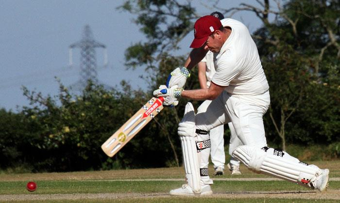 Dan Cherry cracked 83 not out for Cresselly