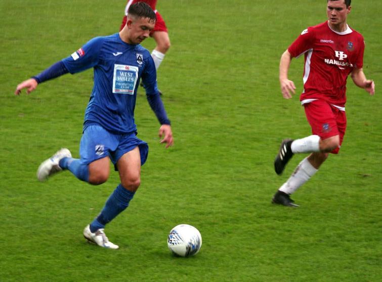 Ben Fawcett scored a cracking first goal