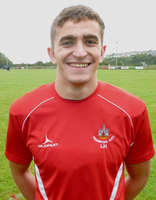 Luke Hartlands three tries helped Pembroke back to winning ways