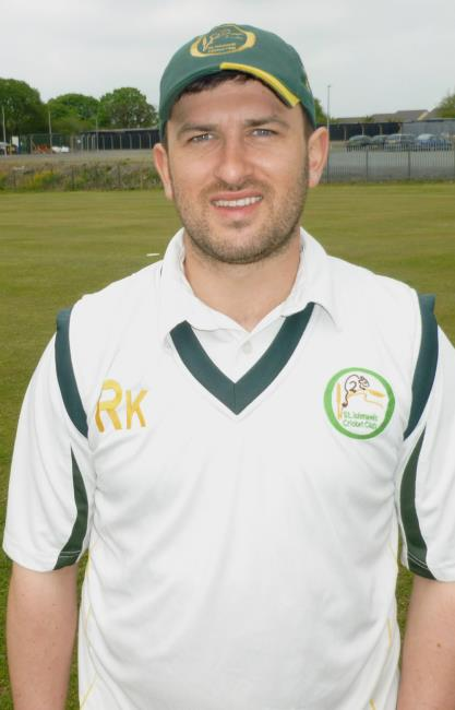 Phil Cockburn - led Tish to victory with cracking 56 not out