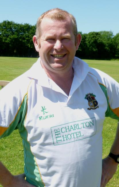 Barry Evans - 85 for Carew 2nds against his former team-mates