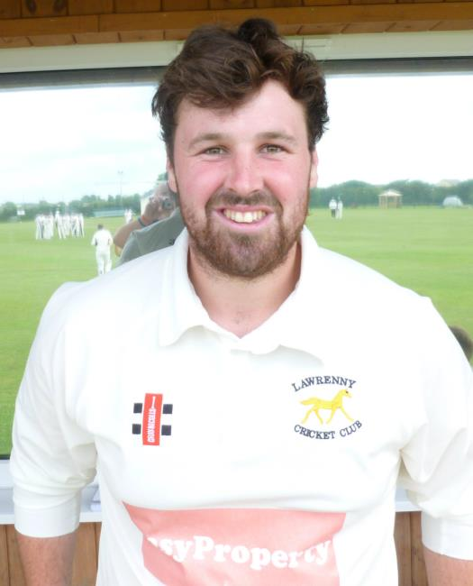 Brad McDermott-Jenkins stars with bat and ball for Lawrenny