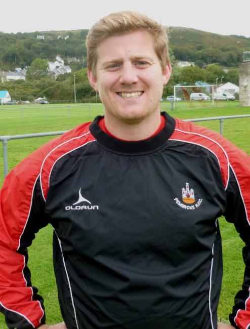 Dan Colley - try of the match for Pembroke at Tycroes