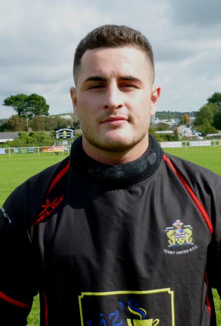 Jack Price - quality try for Narberth centre
