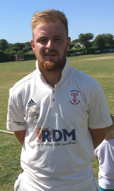 John Curran - more runs for Llechryds star batsman