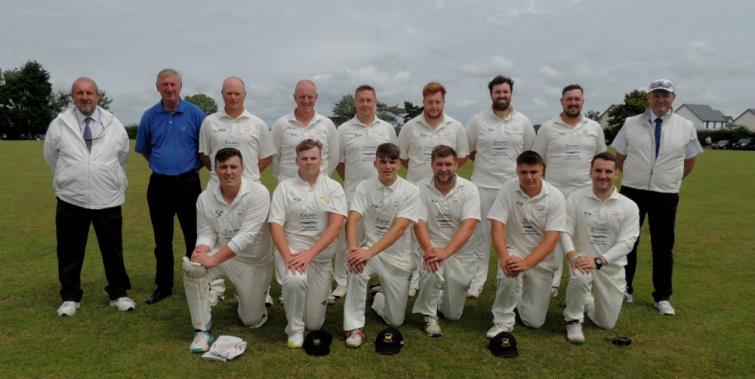 Division One 2019 runners up Lawrenny