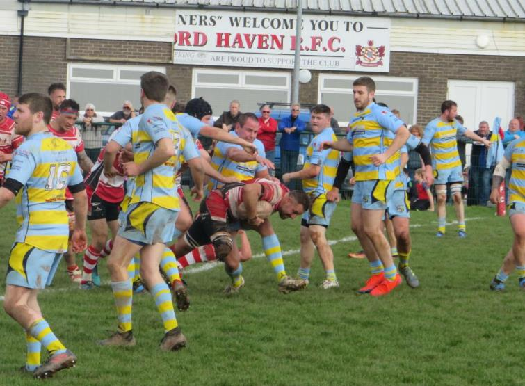 Milford on the attack