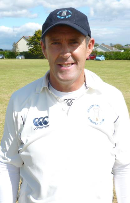 Nigel Morgan - runs and a wicket for Haverfordwest 2nds skipper
