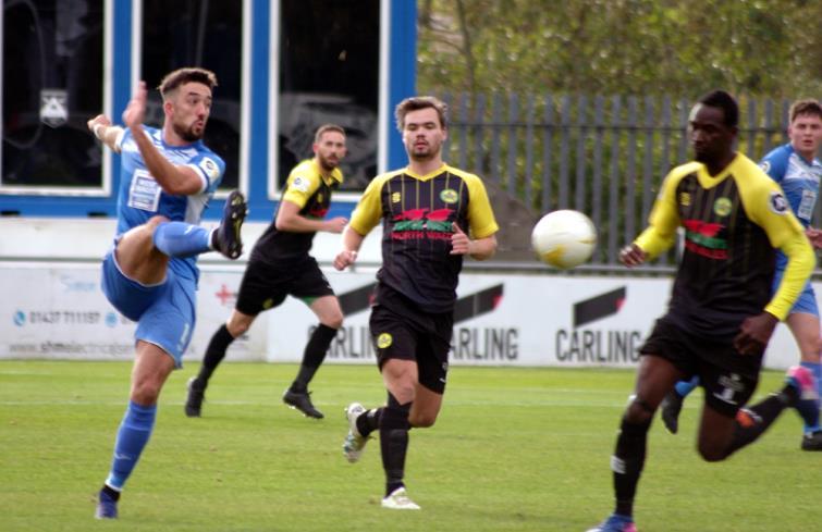 Elliot Scotcher had an impressive debut for the Bluebirds