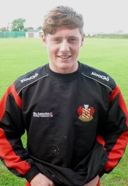 Dan Jenkins - in try-scoring form for Milford Haven