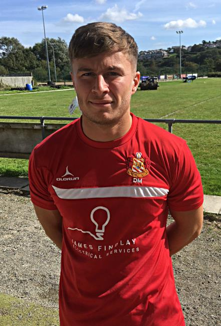 Dan McClelland - helped Milford to first away win with a good try
