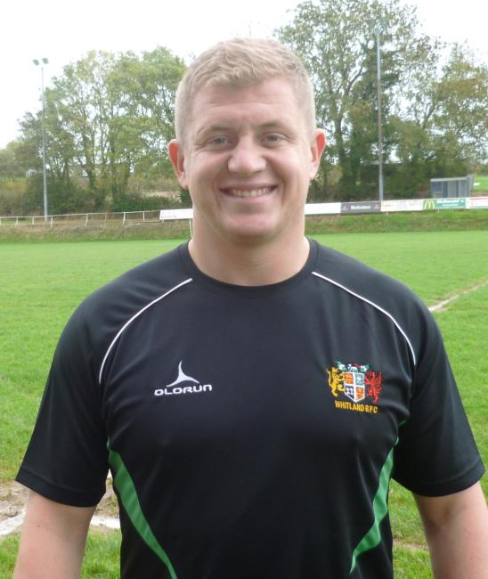 Whitland skipper Jack Mason scored a try at Yr Hendy
