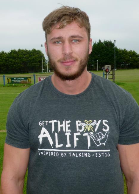 Josh Hicks - Try of the day for Llangwm