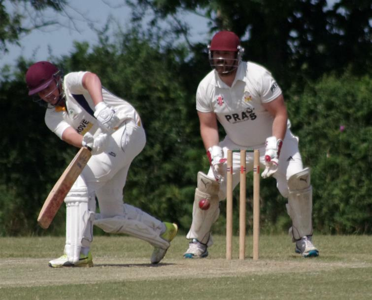 Kurtis Marsh struck an excellent half century for Kilgetty
