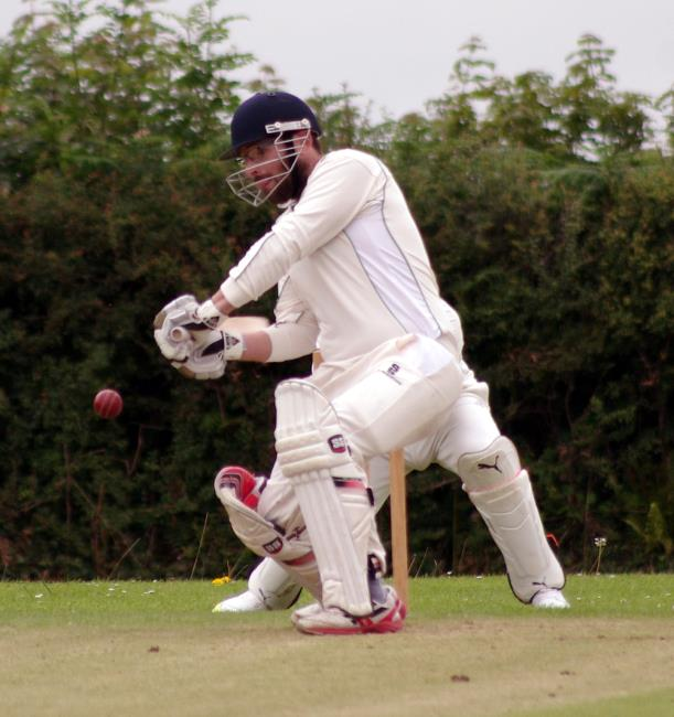 Morgan Scale - batted and bowled well for Burton