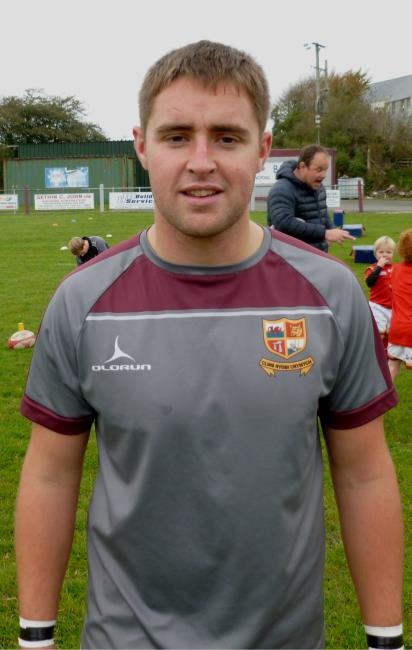 Nick Bevan - two more tries for Crymych