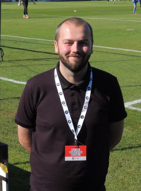 media manager Jordan Griffiths
